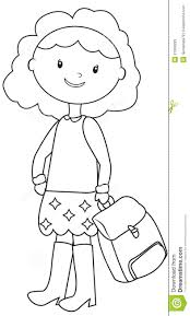 coloring page school school coloring page stock illustration image of colouring