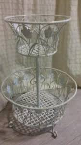 etagere shabby etagere gro罅 metall cremefarben shabby chic in saarland