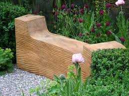 Designer Wooden Garden Bench by Garden Benches To Enhance Your Outdoor Space