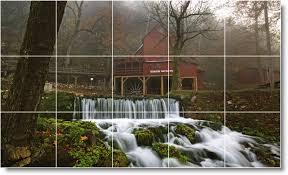 28 tile wall murals waterfalls photo wall tile mural 8 tile wall murals waterfalls photo wall tile mural w039