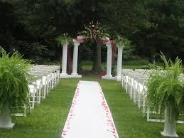 small backyard wedding ceremony amys office