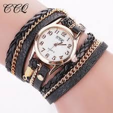 leather women bracelet images Hot sale fashion wrist leather women bracelet watch top deal baron jpg