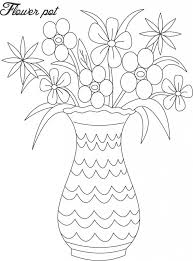 pictures new many easy sketching of flower pot drawing art gallery