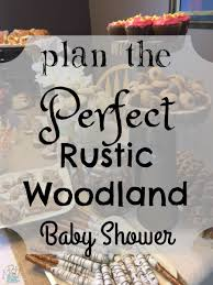 woodland baby shower plan the rustic woodland baby shower