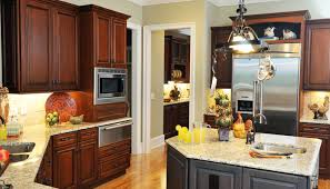 dark kitchen cabinets with light countertops remarkable home