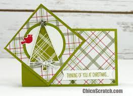 twist turn christmas card chic n scratch
