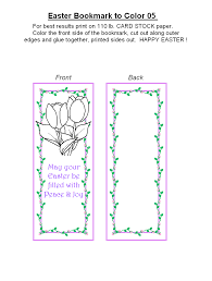 printable easter bookmarks to colour free printable easter bookmarks to color holiday money savers at