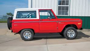 bronco car 2016 chris parr u0027s 1973 ford bronco lmc truck life