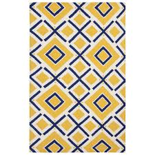 Yellow And Blue Outdoor Rug Navy And Yellow Rug Uniquely Modern Rugs