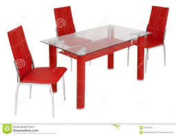 Glass Dining Table Sets by Glass Dining Table And Chairs Stock Photography Image 30163202