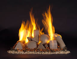 Fire Pit Logs by Alternative Gas Log Fireplaces Fireplace With No Logs Design