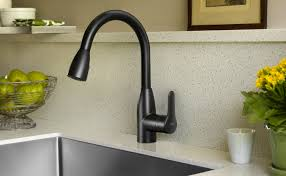 Kohler Oil Rubbed Bronze Kitchen Faucet by Black Kitchen Faucet With Sprayer Outofhome