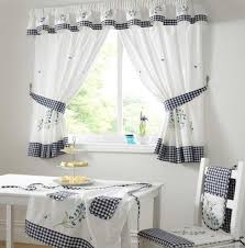 Kitchen Curtain Patterns Inspiration Cool Kitchen Window Curtains Kitchen Window Curtains Geometric