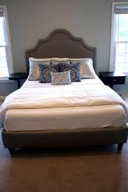 Diy Platform Bed With Headboard by Complete Diy Upholstered Bed Tutorial With Full Plans And