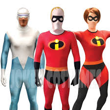 incredibles costume the incredibles morphsuit fancy dress costume mr mrs
