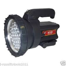big led battery operated rechargeable spot light lamp