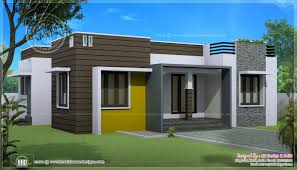 one story contemporary house plans sq ft house provision stair future expansion home kerala style