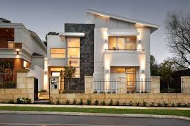 exterior home lighting design modern iron fence designs with stunning architectural lighting and