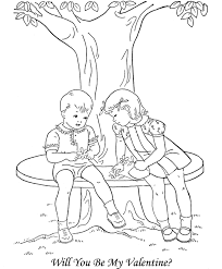 will you be my valentine coloring page valentine coloring pages