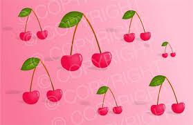 shabby chic pink red cherry wallpaper clipart u2013 prawny clipart