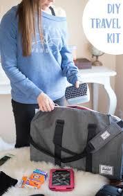 Travel Comfort Items Diy Travel Kit U2022 Taylor Bradford