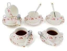 tea cup set new shining image rakuten porcelain tea cup and saucer coffee