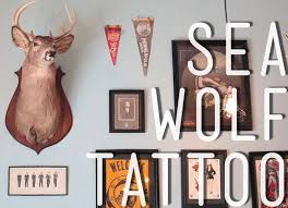 sea wolf tattoo video traditional tattoos