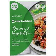cuisine weight watchers buy weight watchers frozen meal quinoa vege 225g at