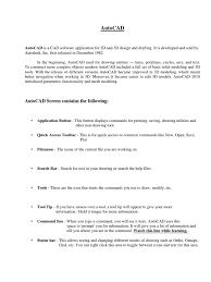 autocad training manual auto cad 3 d modeling