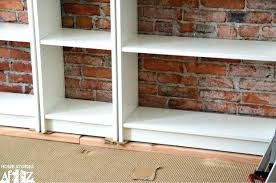 billy bookcase hack low profile bookcase billy bookcase low bookcase low profile