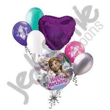 frozen balloons disney princess frozen elsa happy birthday balloon bouquet