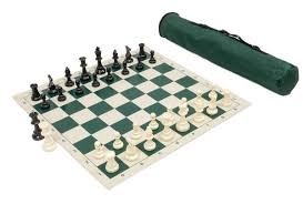 amazon com wholesale chess archer chess set combo forest green
