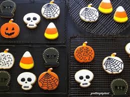 Halloween Pumpkin Sugar Cookies - good things by david happy halloween sugar cookies