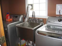 stainless steel laundry sink griffin utility sink lt 118 griffin lt 118 21 x 18 utility sink