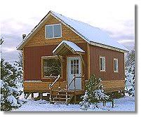 cottage cabin small country home plans