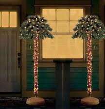 outdoor prelit christmas tree ebay