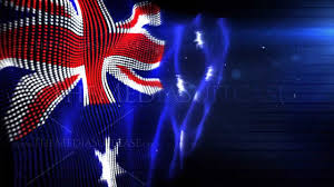Austrslia Flag Australian Flag Royalty Free Video Youtube