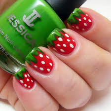 Pic Of Nail Art Designs Best 20 Strawberry Nail Art Ideas On Pinterest U2014no Signup Required