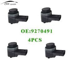 bmw x3 park assist aliexpress com buy 4pcs pdc parking assist sensor 9270491