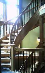 Handrailing Handrails And Stairs Finished With Satin Varnish