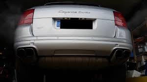 Porsche Cayenne Modified - 2004 porsche cayenne turbo modified muffler before after youtube