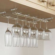 under cabinet wine glass rack ebay