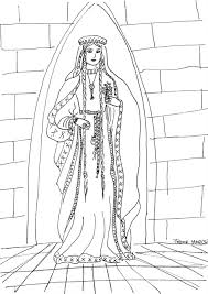 medieval princess coloring page and coloring pages eson me