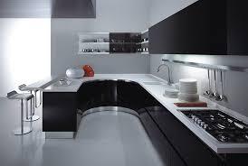 cuisine blanche avec plan de travail noir 73 id es relooking moderne