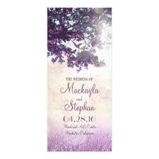 purple wedding programs planning a summer wedding inn 2 weddings