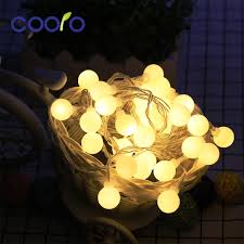 Solar White Christmas Lights by Online Get Cheap White Globe Christmas Lights Aliexpress Com