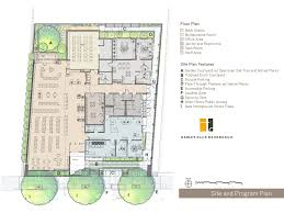 Floor Plan Library by Site And Floor Plan Of The West Berkeley Public Library Image