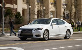 lexus sedan models 2013 2013 lexus ls600hl test u2013 review u2013 car and driver