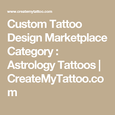 custom tattoo design marketplace category astrology tattoos