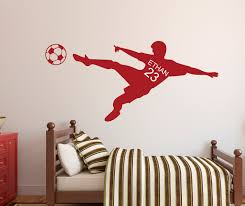 soccer wall decal personalized name wall by pinkiepeguinshop cat soccer wall decal personalized name wall by pinkiepeguinshop